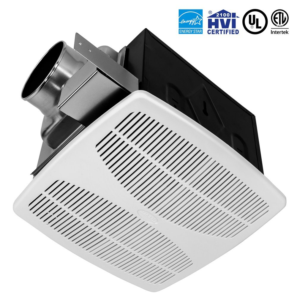 BV Super Quiet 110 CFM, 1.3 Sones Bathroom Ventilation & Exhaust Fan