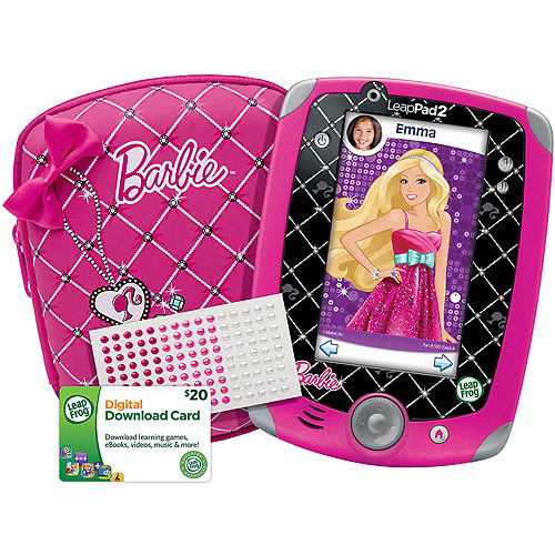 LeapFrog LeapPad2 Explorer Totally Barbie Bundle (includes LeapPad2 Tablet plus Bonus Barbie Accessories)
