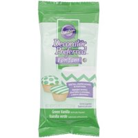 (3 Pack) Wilton Decorator Preferred Fondant, Green, 4.4oz