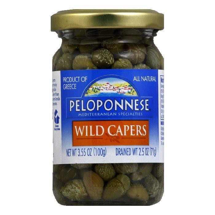 DISCOED Peloponnese Wild Capers, 2.5 Oz (Pack of 12)