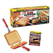 As Seen on TV Red Copper FlipWich Sandwich Maker