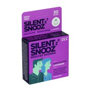 Silent Snooz Snoring Aid with Calming Lavender, 30 reuses