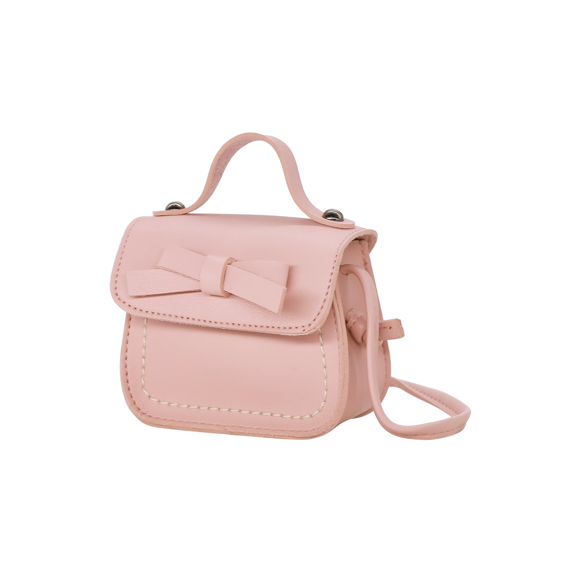 a268950a6fa19 HDE Small Fashion Purse for Little Girls Light Pink Toddler Kids Bag Cute  Bow (Light Blue) | Walmart Canada