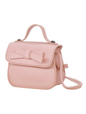 ab586c8b00 Product Image HDE Small Fashion Purse for Little Girls Light Pink Toddler  Kids Bag Cute Bow (Pink