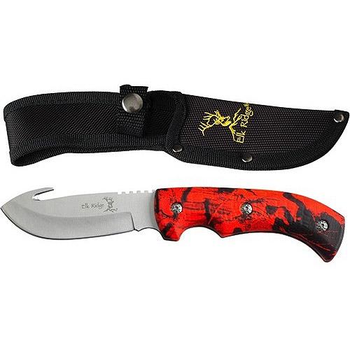 "Elk Ridge ER-274RC Fixed Blade 8.75"" Knife"