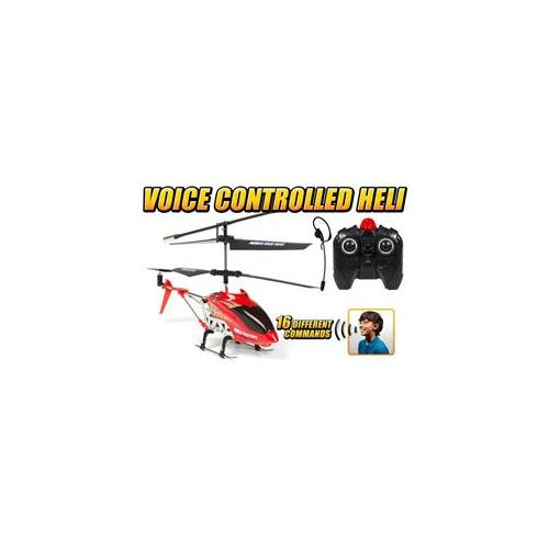 World Tech Toys 35958 Gyro Heli Command 3. 5CH Electric RTF Voice Control RC Helicopter