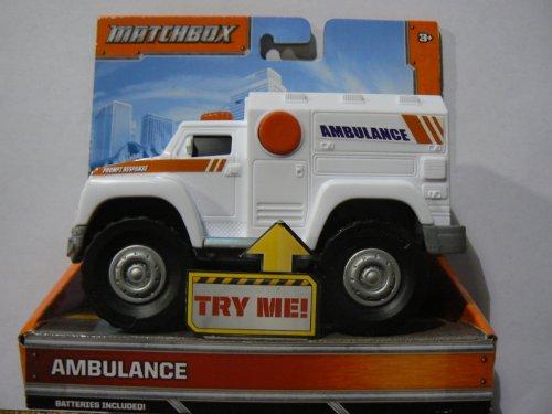 Matchbox Lights and Sounds Ambulance by Mattel