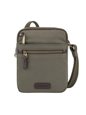 96c27c114 Product Image Travelon Anti-Theft Courier Small North South Slim Bag 8