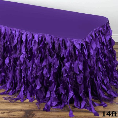 enchanting kitchen table centerpiece ideas | Efavormart Enchanting Curly Willow Taffeta Table Skirt for ...