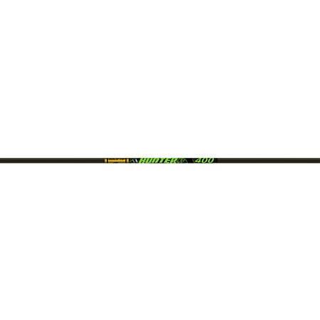 Gold Tip Hunter XT Arrow Shafts, Pack of 12, Black, - Gold Tip Xt Hunter Shafts