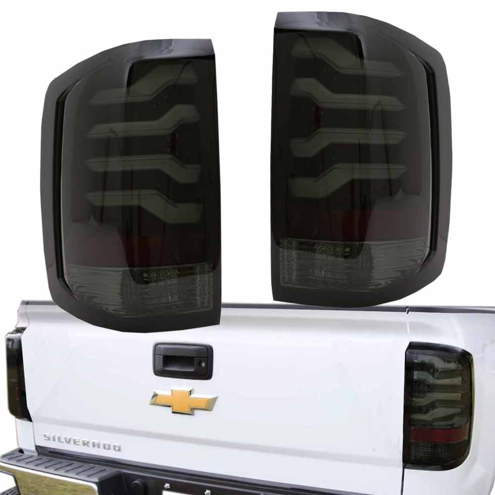 2014 2017 Chevy Silverado 1500 2500hd Sierra 3500hd Led Taillights