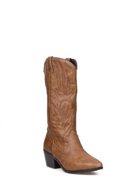 a7b33beea71 Product Image Shoelala Pull Women s Western Boots in Cognac