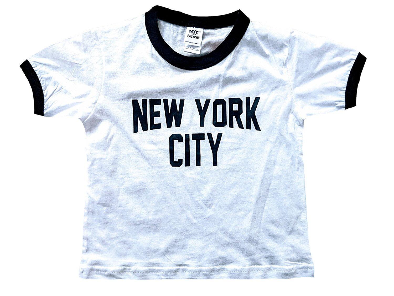 NYC Premium Canvas T-Shirt New York City Queens Black Tee