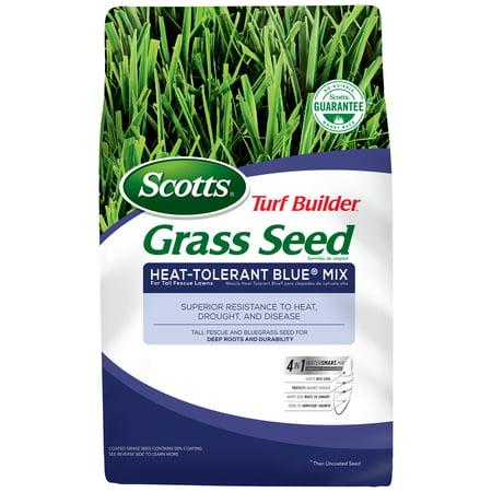 Scotts Turf Builder Grass Seed Heat-Tolerant Blue Mix 3 (Bermuda Grass Lawns)