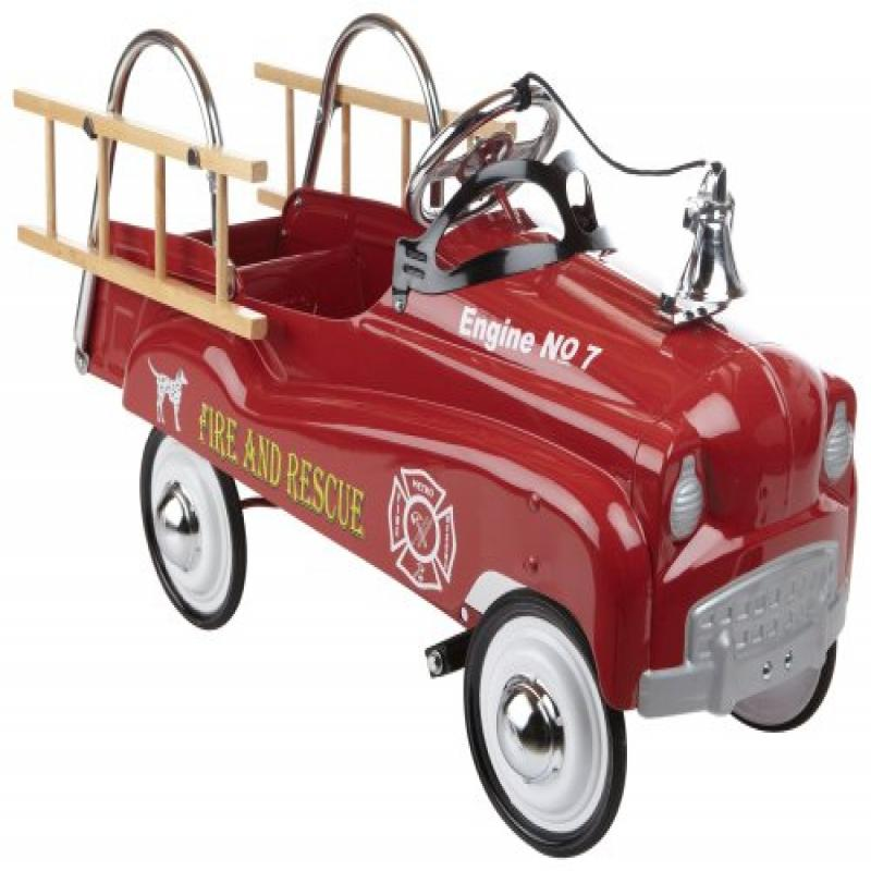 InStep Fire Truck Pedal Car by InSTEP