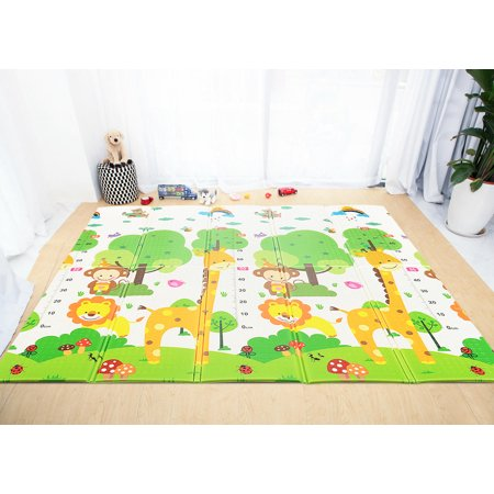 Double Sided Play Mat Folding Baby