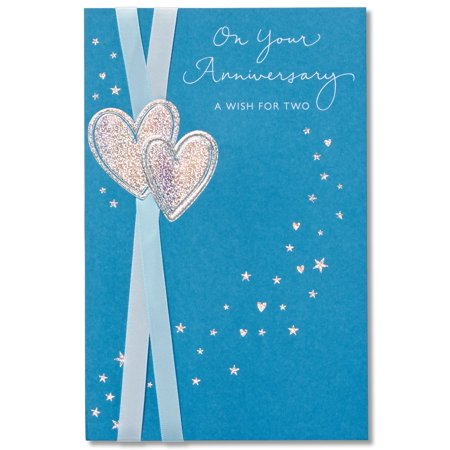 - American Greetings A Wish for Two Anniversary Card with Foil