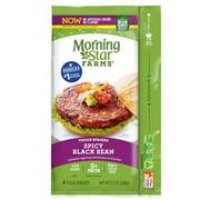 Morningstar Farms Spicy Black Bean Veggie Burgers, 9.5 Ounce - 8 per case.
