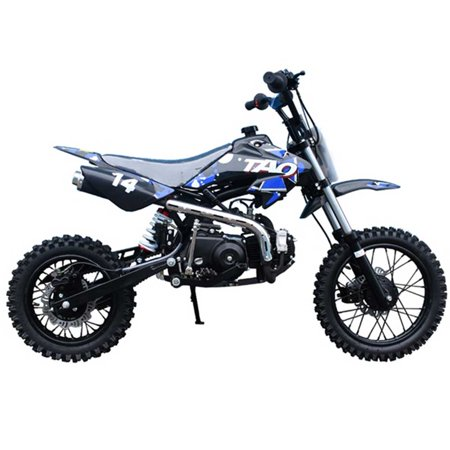 Kids Dirt Bike by FamilyGoKarts Blue DB14 Youth Motocross Dirt