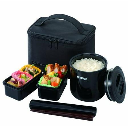 tiger america lwye046k4 tiger lwye046k4 lunch box bento set incl thermal. Black Bedroom Furniture Sets. Home Design Ideas
