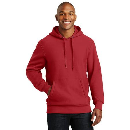 Sport-Tek® Super Heavyweight Pullover Hooded Sweatshirt.  F281 Red 3Xl - image 1 de 1