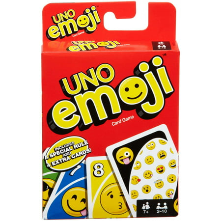 UNO Emojis Edition Card Game