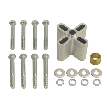 """Derale Cooling Products 34515 1 1/2"""" Universal Fan Spacer, (female 5/8 Or 3/4 Pilot)"""
