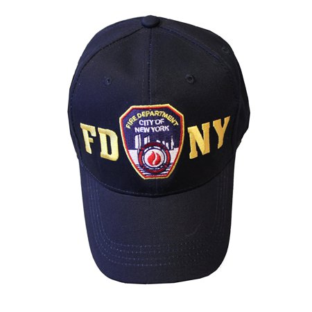 FDNY Junior Kids Baseball Hat Fire Department of New York Navy Blue One Size