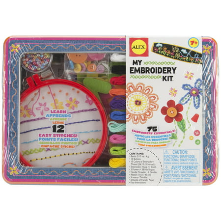 Scarf Embroidery Kit (ALEX DIY My Embroidery Kit)