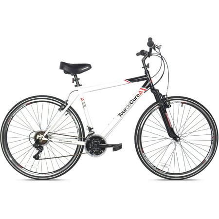 Compare price 700c Men's Tour De Cure Hybrid Bicycle - euukok73