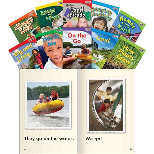 Time for Kids Nonfiction Readers: Emergent Set 1
