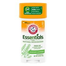 Deodorant: Arm & Hammer Essentials
