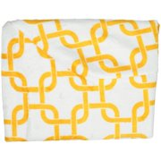 TL Care Heavenly Soft Chenille Fitted Contoured Changing Pad Cover, Golden Yellow Twill Gotcha