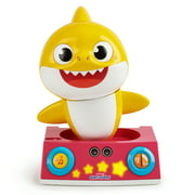 Pinkfong Baby Shark Official by WowWee - Baby Shark Dancing DJ Toy, Yellow, for Ages 2+