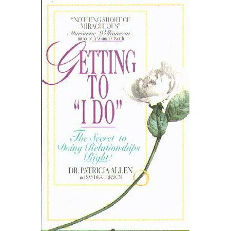 """Getting To """"I Do"""" - image 1 de 1"""