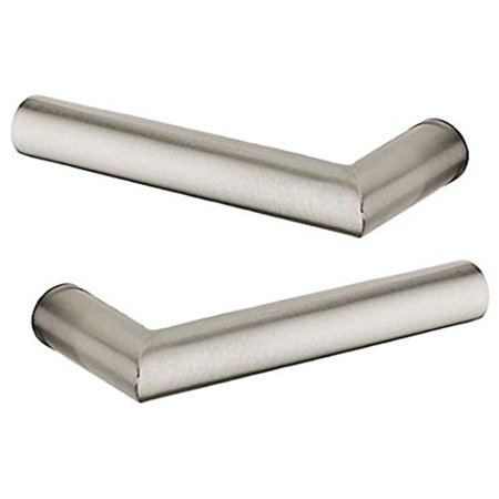 Baldwin 5173055MR Pair of Estate Levers Minus Rosettes, Lifetime Polished Nickel-055 MR - image 1 de 1