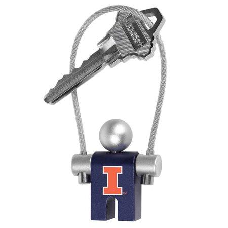 LinksWalker LW-CO3-IFI-JUMPER Illinois Fighting Illini-Jumper Keychain