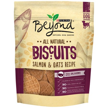 Purina Beyond Salmon & Oats Recipe Dog Biscuits, 25 Oz