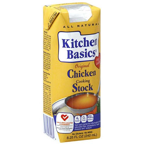 Kitchen Basics Original Chicken Cooking Stock, 8.25 oz, (Pack of 12)