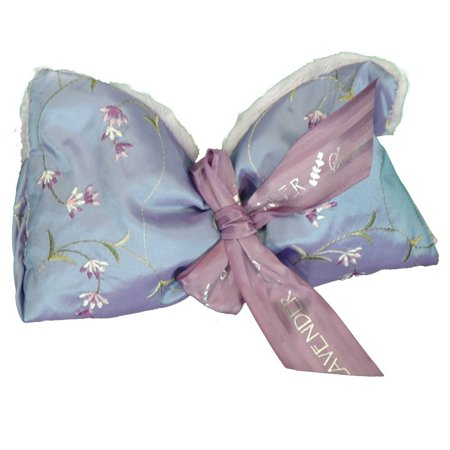 Sonoma Spa - Lavender Spa Mask in Embroidered Lilac, Relax at the end of a hard day with this exquisite lavender aromatherapy spa eye mask By Sonoma