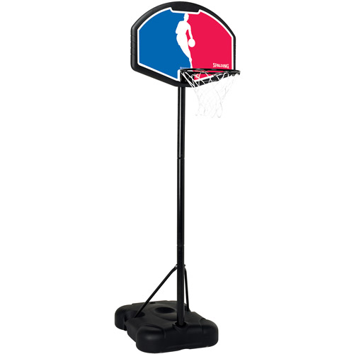 Spalding Youth Portable NBA Logo Man Backboard, Red White Blue by Spalding
