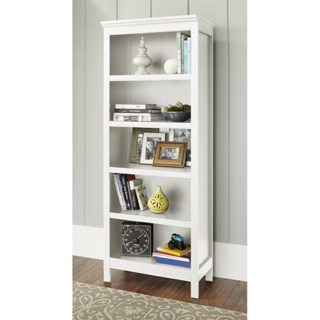 10 Spring Street Burlington Collection 5 Shelf Bookcase Multiple Colors