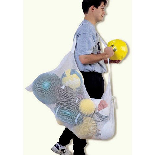 "48"" x 24"" Mesh Ball Bag, Blue"