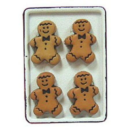 Dollhouse Gingerbread Men/Flow Cookie Sheet
