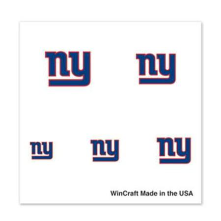 New York Giants Tattoos (New York Giants Fingernail Tattoos - 4)