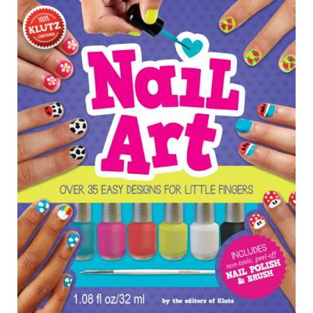 Nail Art : Over 35 Easy Designs for Little Fingers](Best Finger Foods For Halloween)