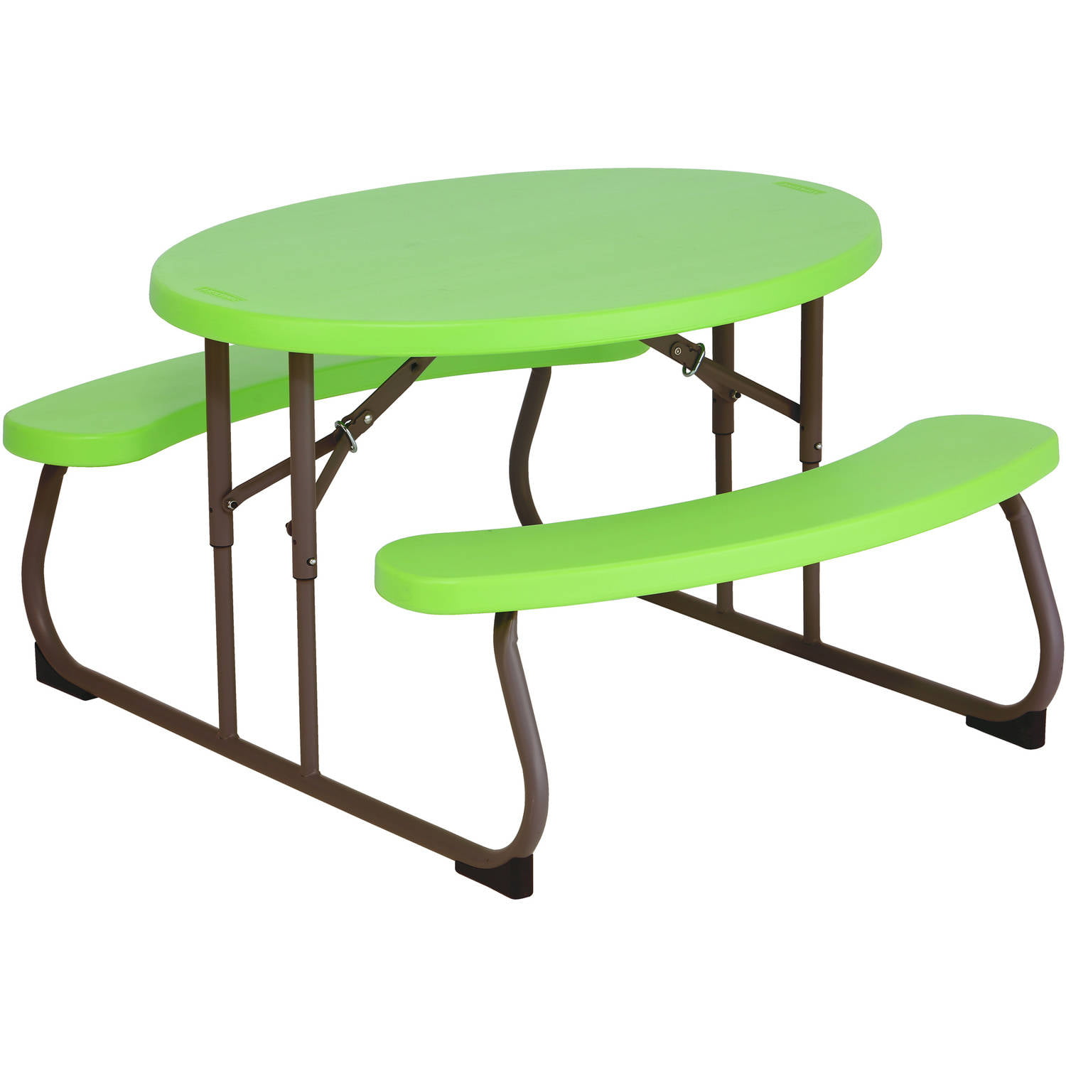 Lifetime Children's Oval Picnic Table, Lime Green by Lifetime Products