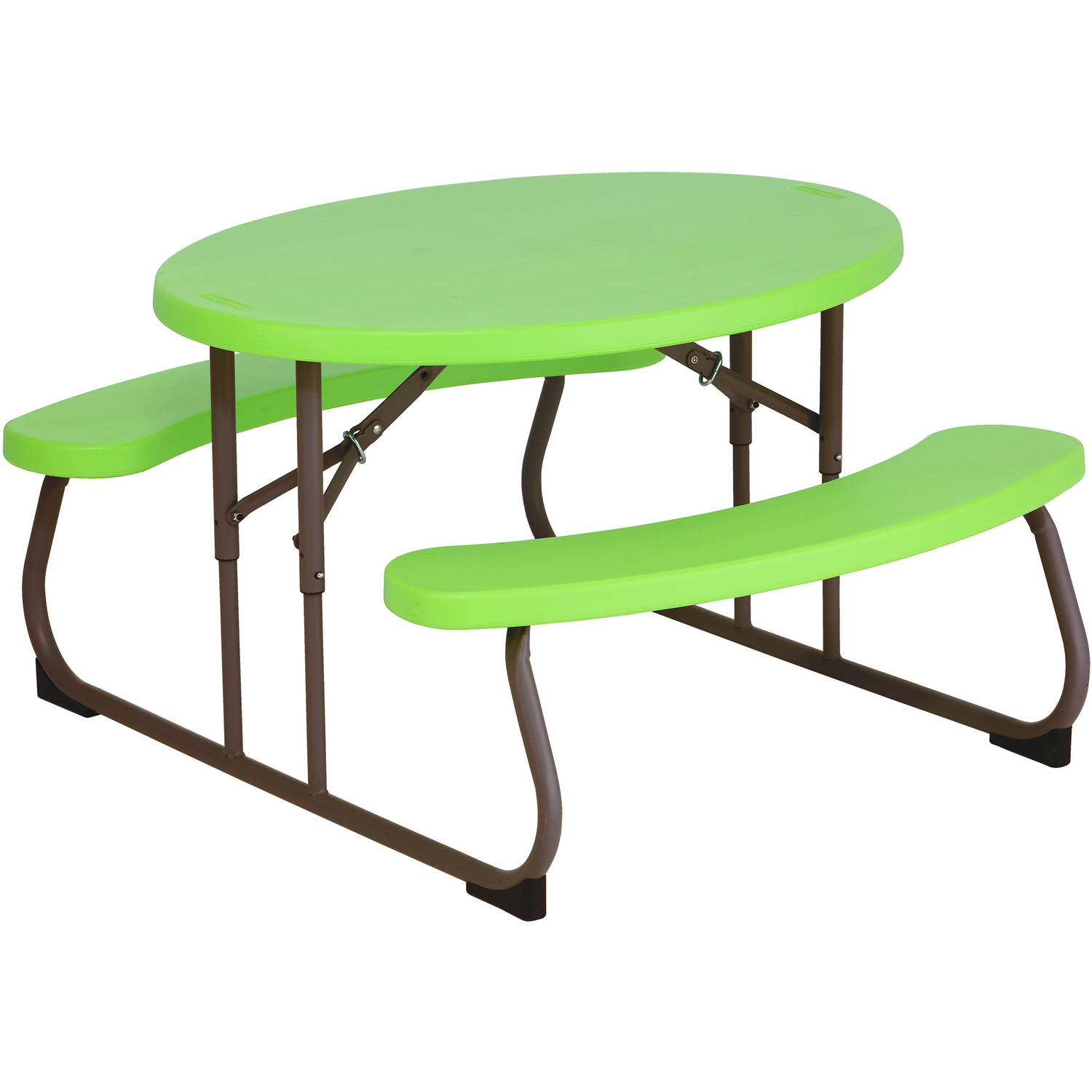 Lifetime Children's Oval Picnic Table, Lime Green