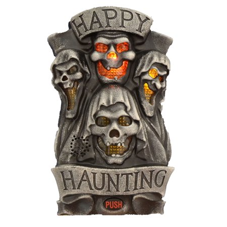 Happy Haunting Door Greeter - Halloween Greeter