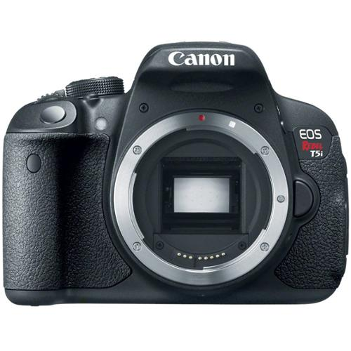 Canon EOS Rebel T5i 18.0 MP CMOS Digital Camera with 3-inch Touchscreen and Full HD Movie Mode (Body Only)